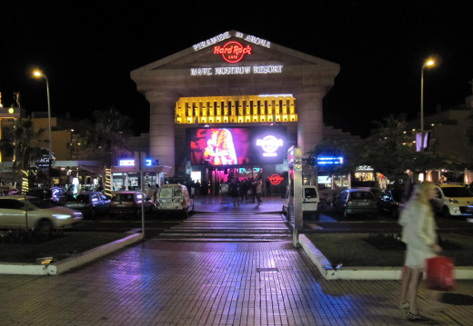Hard Rock cafe en Tenerife