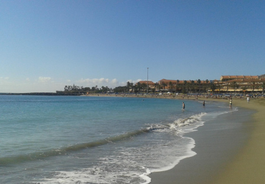 Playa en costa adeje