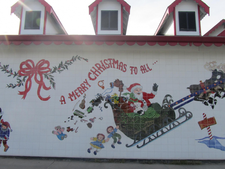 Santa Claus House outside